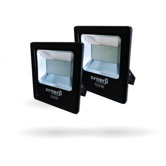 SYNERJI LED Slim Floodlights 50W/100W