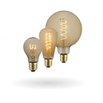 SYNERJI LED Deco Filament Classic Lamps