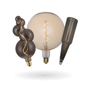 SYNERJI LED Deco Filament Lamps